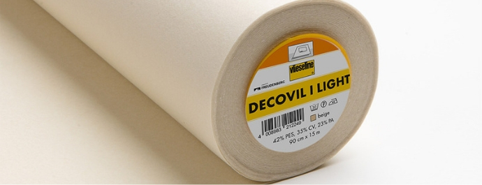 Vlieseline: Decovil I Light